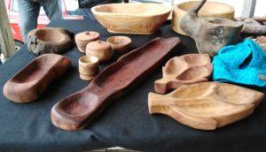Artesanía en madera de mar