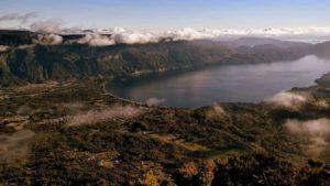 Vista general de Coñaripe